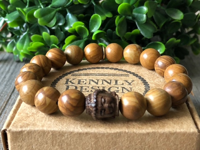 Buddha Gemstone Beaded Bracelet