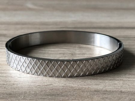 Zilver stainless steel armband